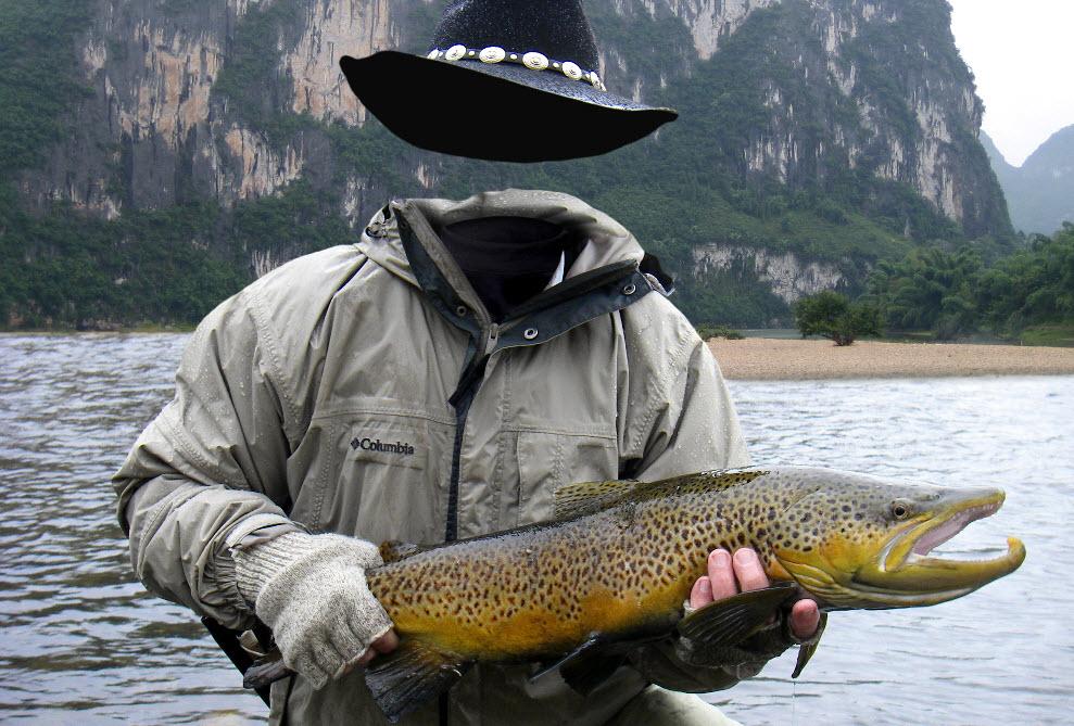 удачливого рыбака